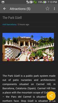 Info Barcelona screenshot 3
