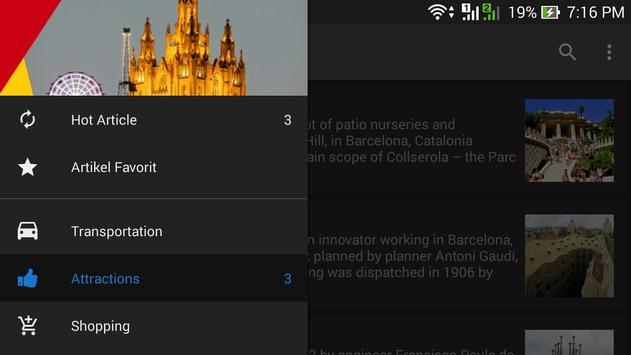 Info Barcelona screenshot 4