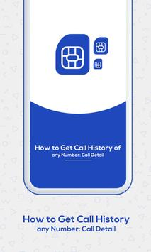 How to Get Call History of Others : Call Detail poster