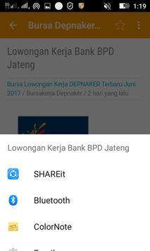Info Lowongan Kerja screenshot 5