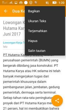 Info Lowongan Kerja screenshot 6