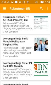 Info Lowongan Kerja screenshot 3