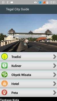 Tegal City Guide poster