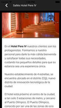 Sallés Hotel Pere IV apk screenshot