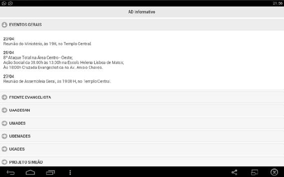 Ad Informativo screenshot 2