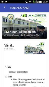 SMP Al Mujahidin Wonosari apk screenshot