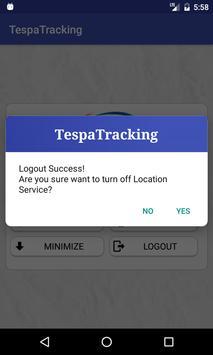Tespa Location Tracking apk screenshot