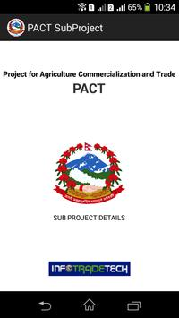 PACT Grant Recipients poster
