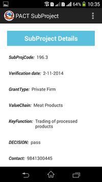 PACT Grant Recipients screenshot 7