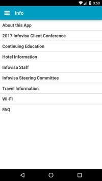 2016 Infovisa Conference apk screenshot