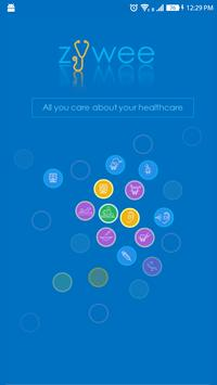 Zywee -One stop health app poster
