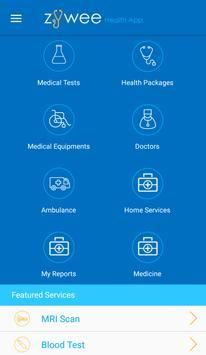 Zywee -One stop health app apk screenshot