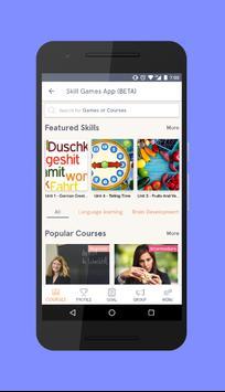 Skill Games App poster
