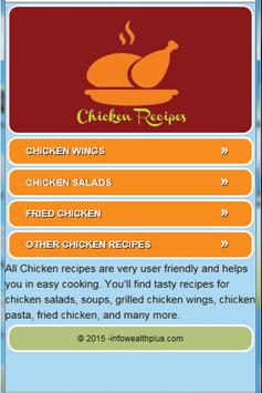 Easy Chicken Recipes poster