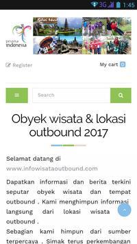 Info Wisata Outbound poster