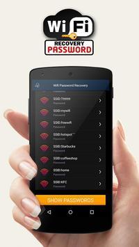 WiFi восстановление пароля постер