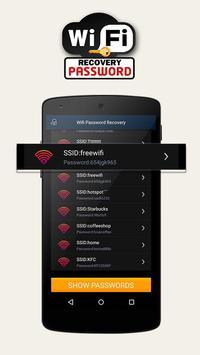 WiFi восстановление пароля скриншот 1
