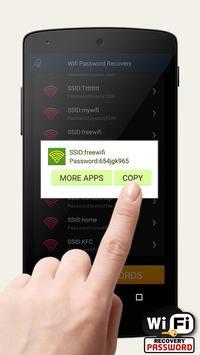 WiFi восстановление пароля скриншот 2