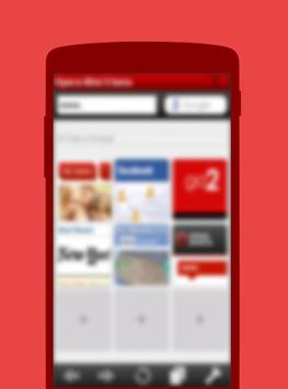 Free Opera Mini 2017 Beta Tips poster