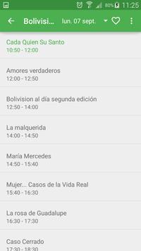 TV Cable Bolivia (Guía) apk screenshot