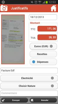 RoboCompta Mobile Accounting apk screenshot