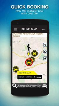 Brunel Taxis screenshot 1