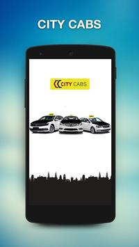 City Cabs Leeds poster