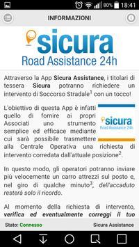 Sicura Assistance screenshot 2