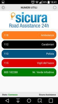 Sicura Assistance screenshot 3