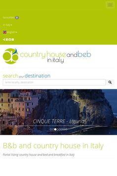 B&b and country house in Italy poster