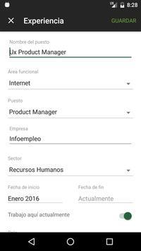 Trabajo y empleo apk screenshot