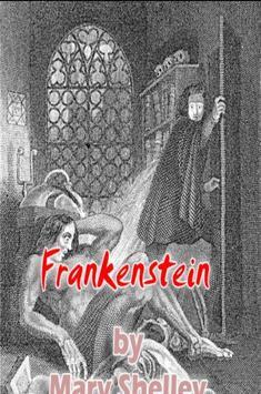 Frankenstein :M.Shelley-horror poster
