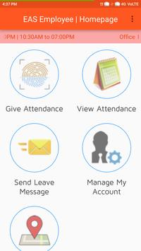 Employee Attendance System apk screenshot