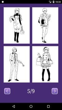 Anime Manga Coloring Book apk screenshot