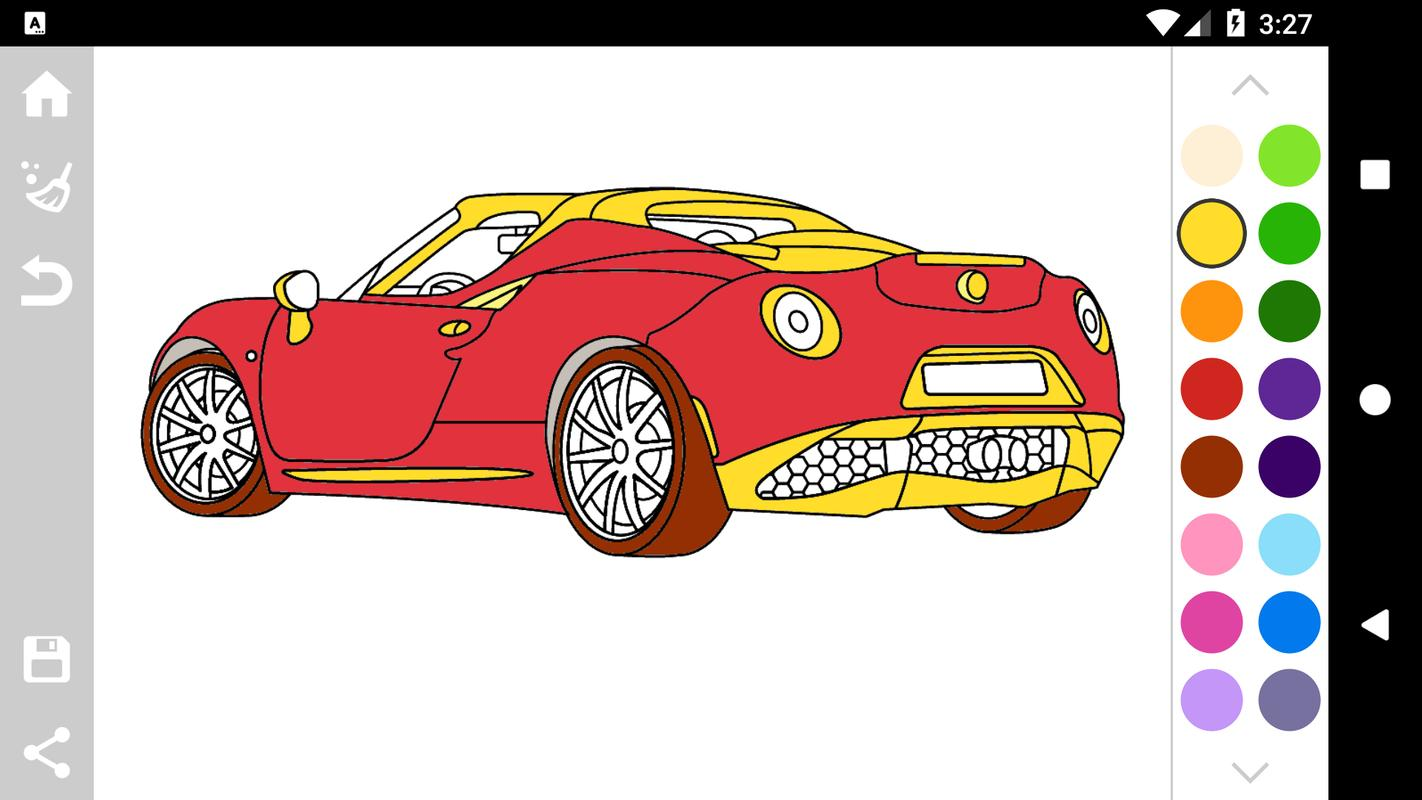 Italian Cars Coloring Book for Android - APK Download