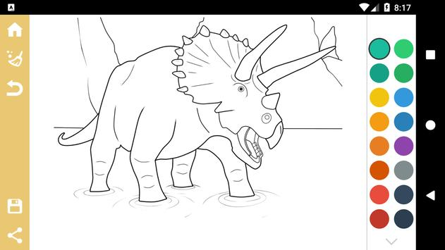 Best Dinosaur Coloring Book for Android - APK Download