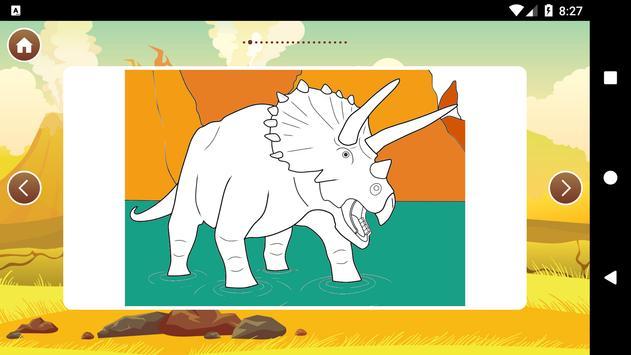 Best Dinosaur Coloring Book Screenshot 7