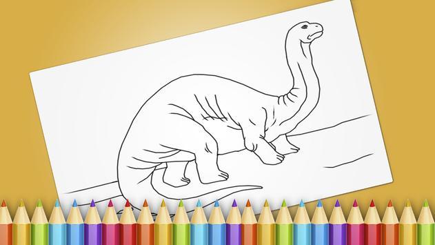 Dinosaurs Coloring Book Game Apk Screenshot