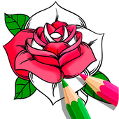 Flower Coloring Book icon