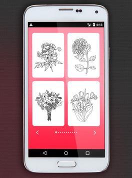 Flower Coloring Book screenshot 1