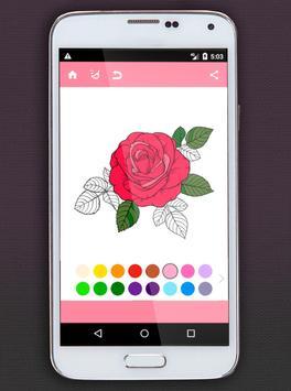Flower Coloring Book screenshot 2