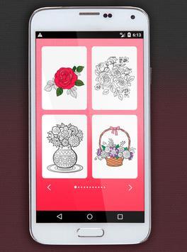 Flower Coloring Book screenshot 5