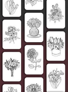 Flower Coloring Book screenshot 6