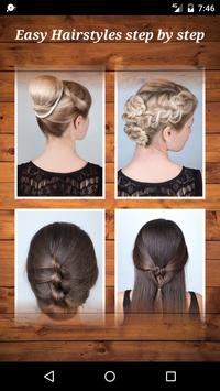 Easy Hairstyles step by step screenshot 2
