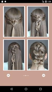 Hairstyles step by step poster