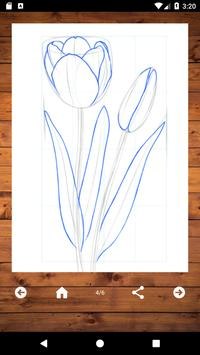 How To Draw Flowers screenshot 5