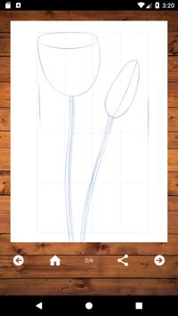 How To Draw Flowers screenshot 3
