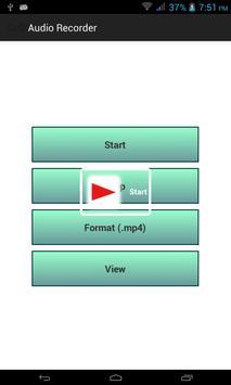 Audio Recorder apk screenshot