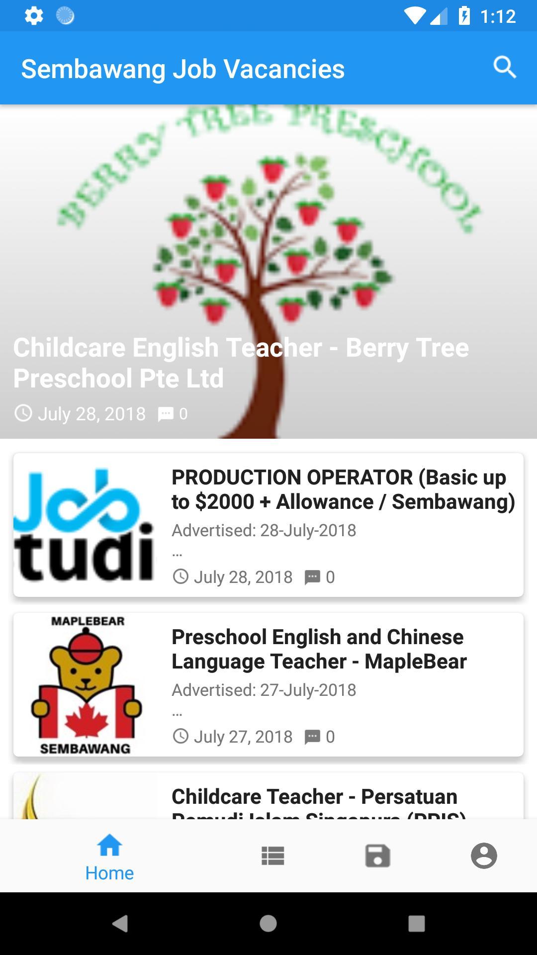 SEMBAWANG JOB VACANCIES - Daily Job Update for Android - APK Download