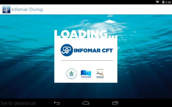INFOMAR CFT Dive Guide apk screenshot